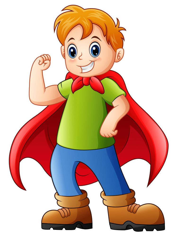 Kid Superhero clipart download