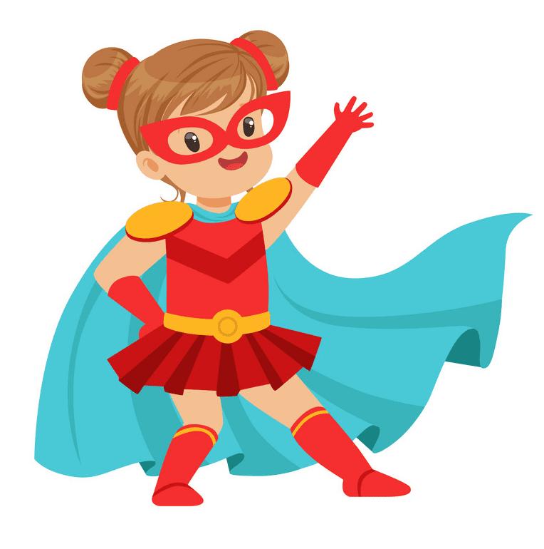 Kid Superhero clipart png