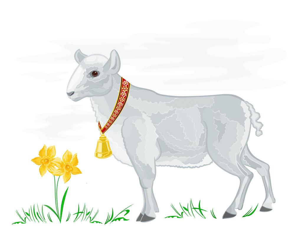 Lamb clipart 1