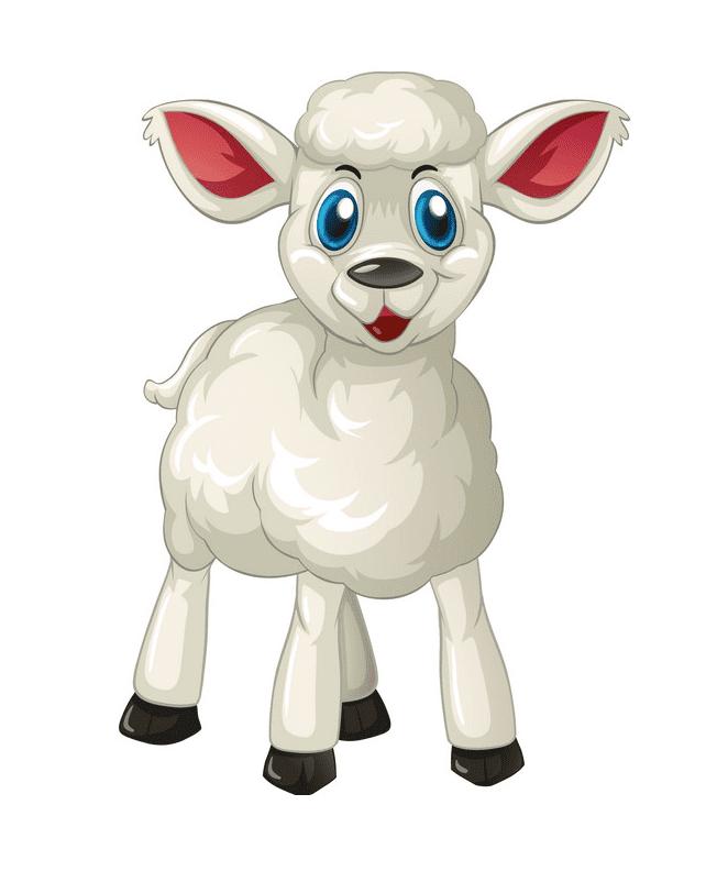 Lamb clipart 10