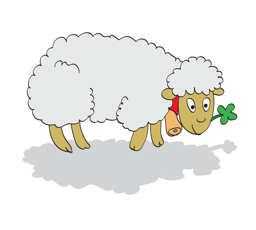 Lamb clipart 6