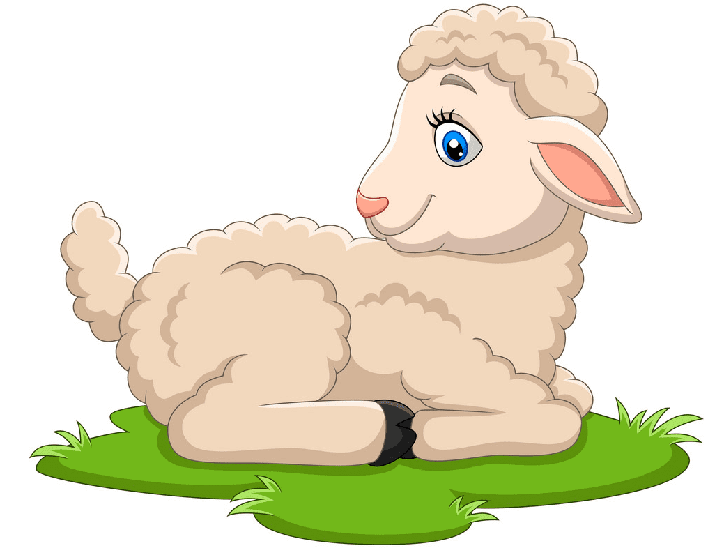 Lamb clipart for kid