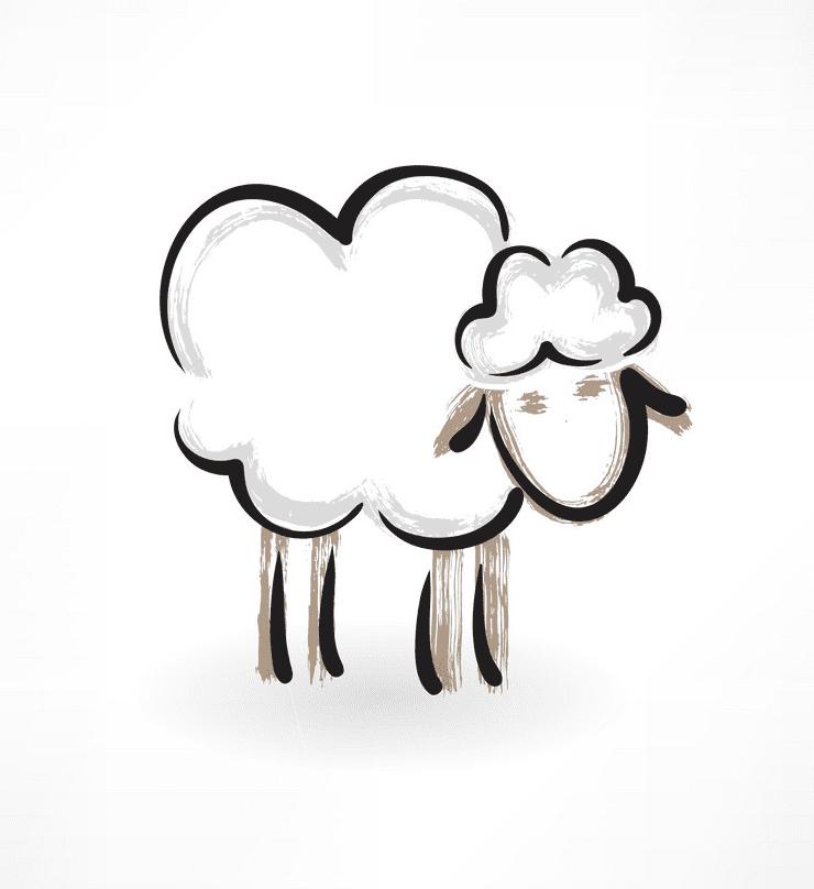 Lamb clipart free 2