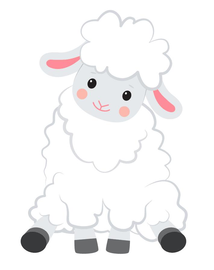 Lamb clipart free 4