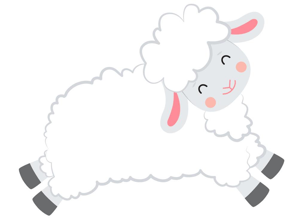 Lamb clipart free 5