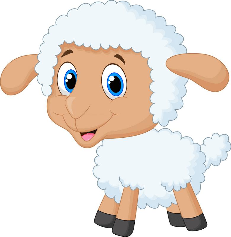 Lamb clipart free 8