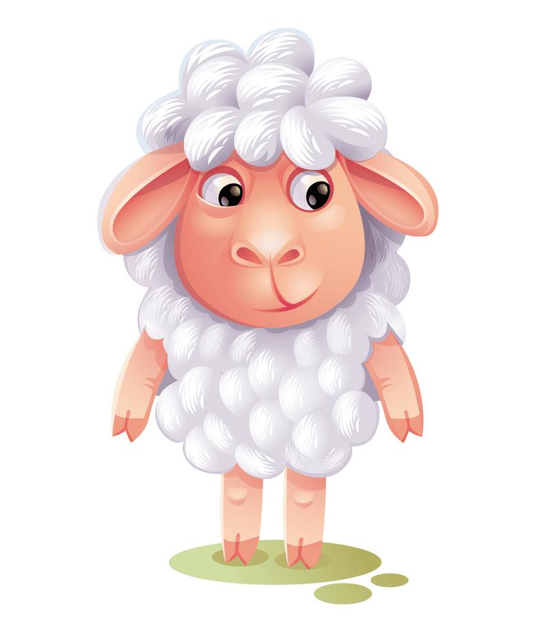 Lamb clipart free 9