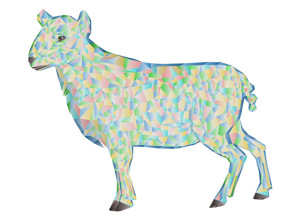 Lamb clipart free for kid