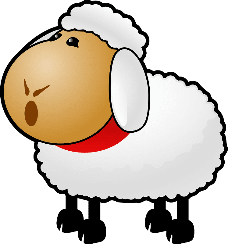 Lamb clipart transparent 7