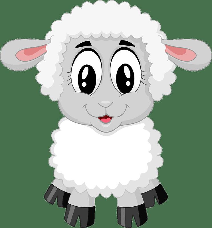 Lamb clipart transparent 9