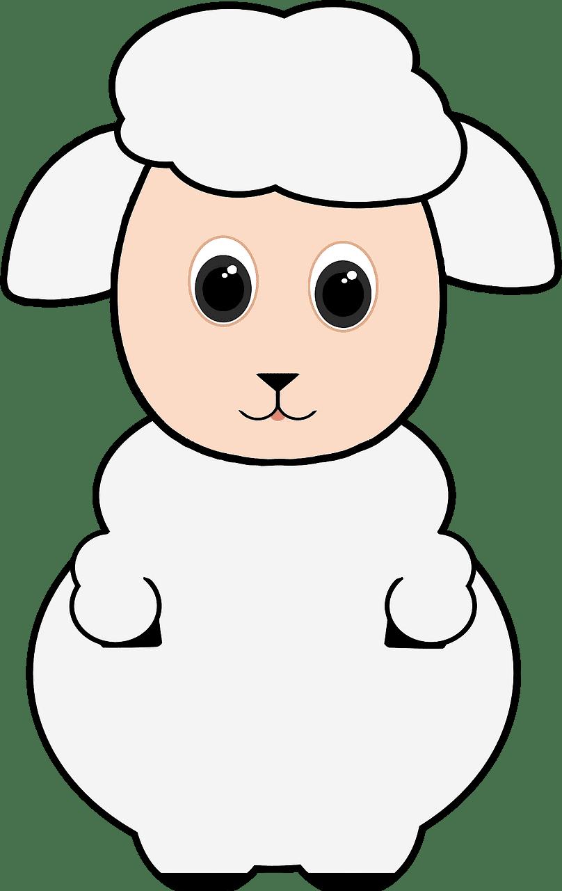 Lamb clipart transparent background 1