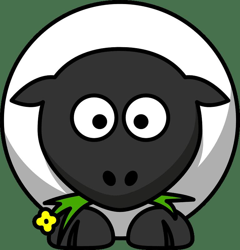 Lamb clipart transparent background 3