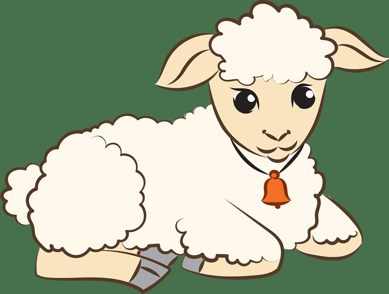 Lamb clipart transparent background