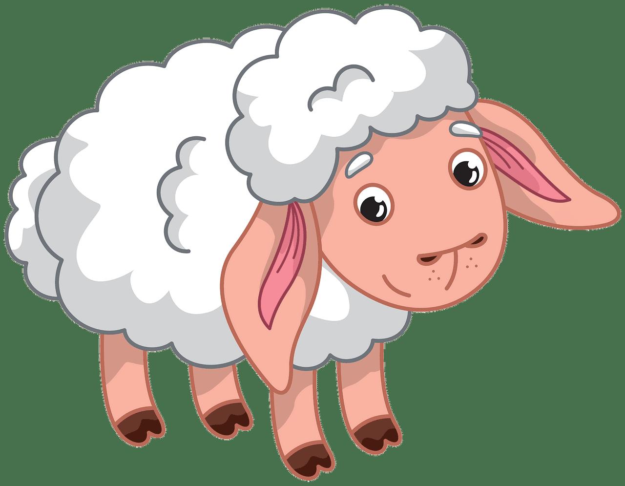 Lamb clipart transparent for kid