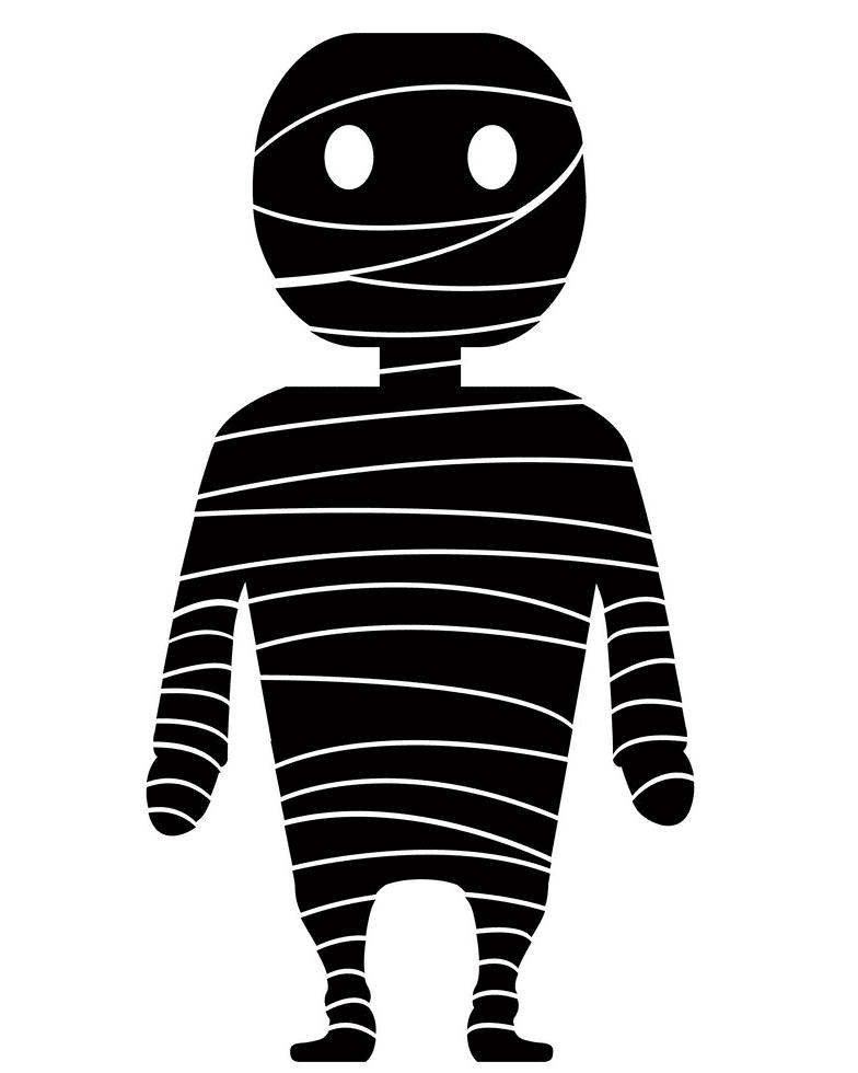 Mummy clipart 7