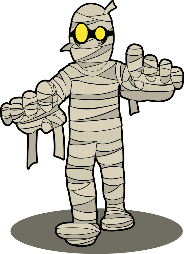 Mummy clipart for kid