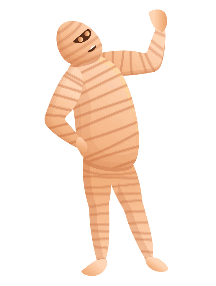 Mummy clipart for kids