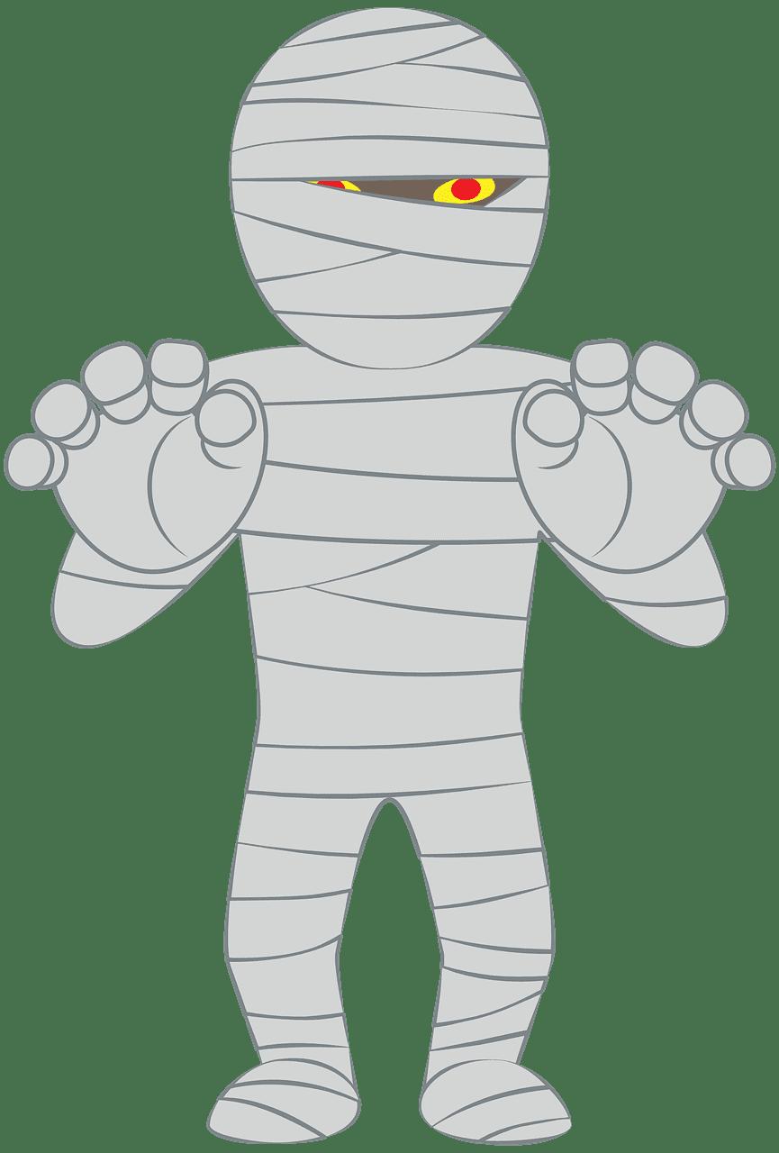 Mummy clipart transparent 1