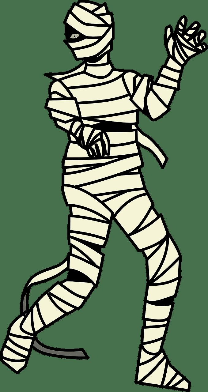Mummy clipart transparent 10