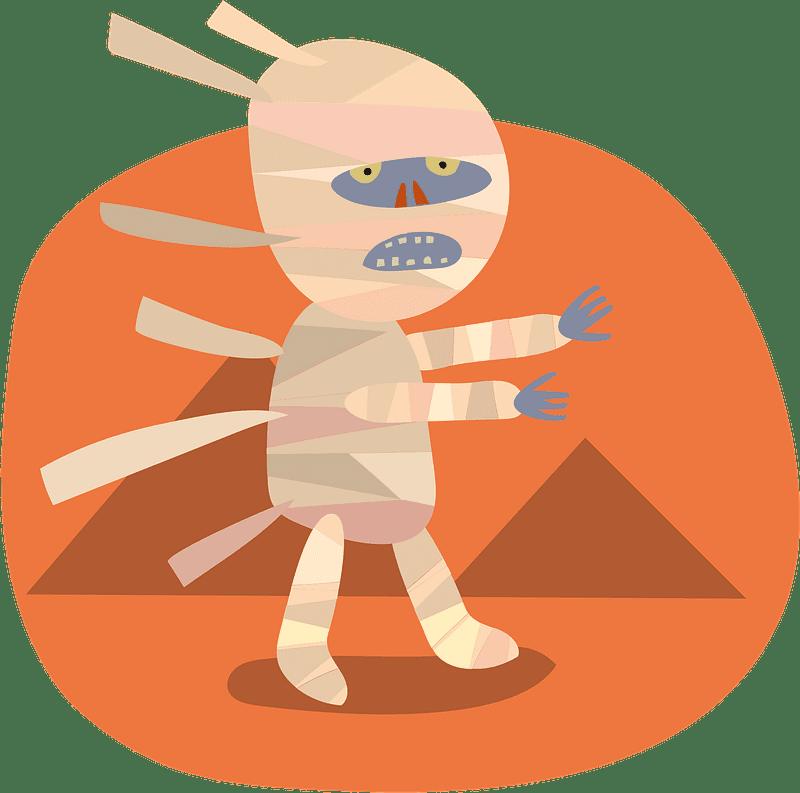 Mummy clipart transparent 2