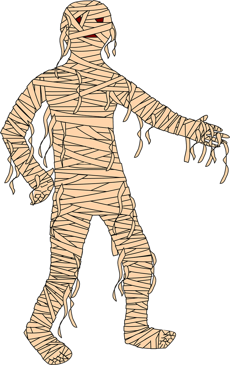 Mummy clipart transparent 6