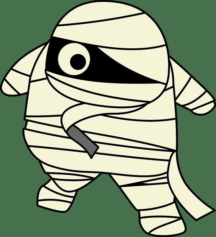 Mummy clipart transparent 8