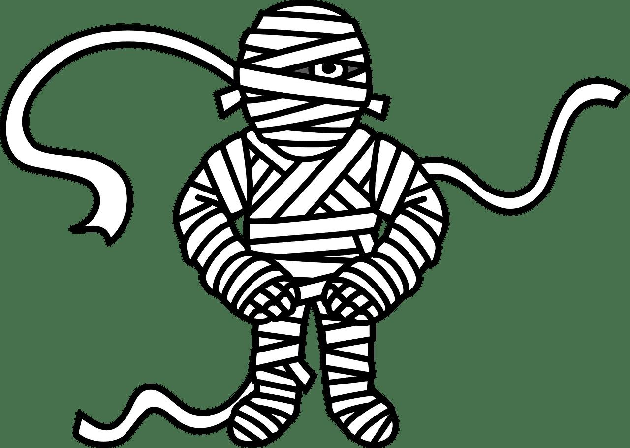 Mummy clipart transparent 9