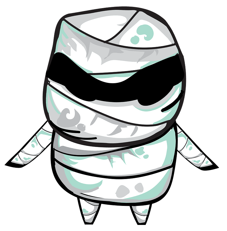Mummy clipart transparent for free
