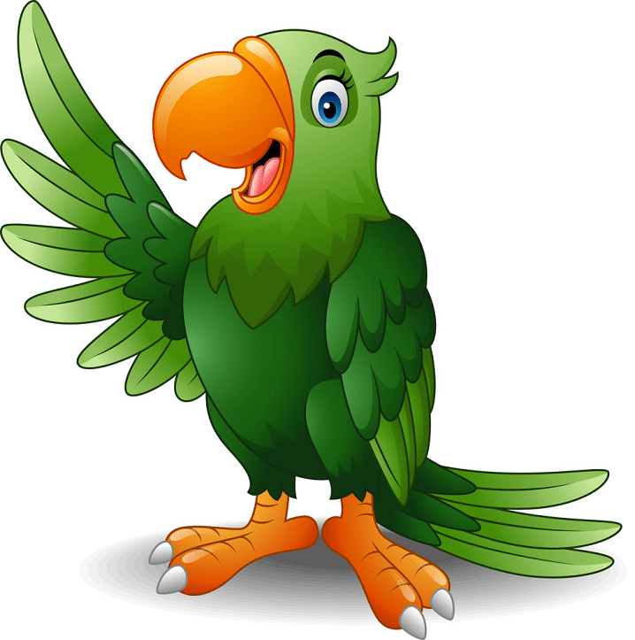 Parrot clipart free image