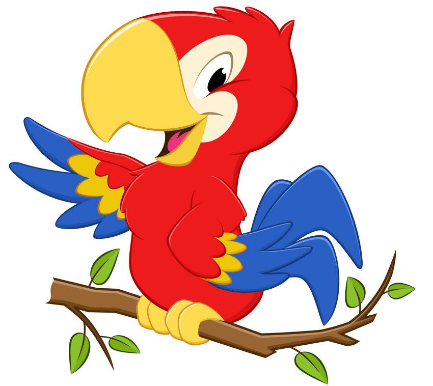 Parrot clipart images