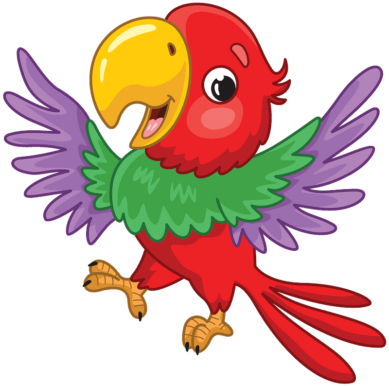 Parrot clipart transparent 3
