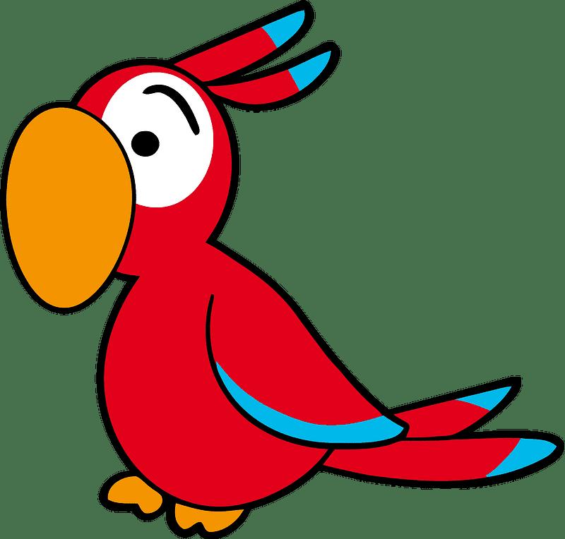 Parrot clipart transparent 8