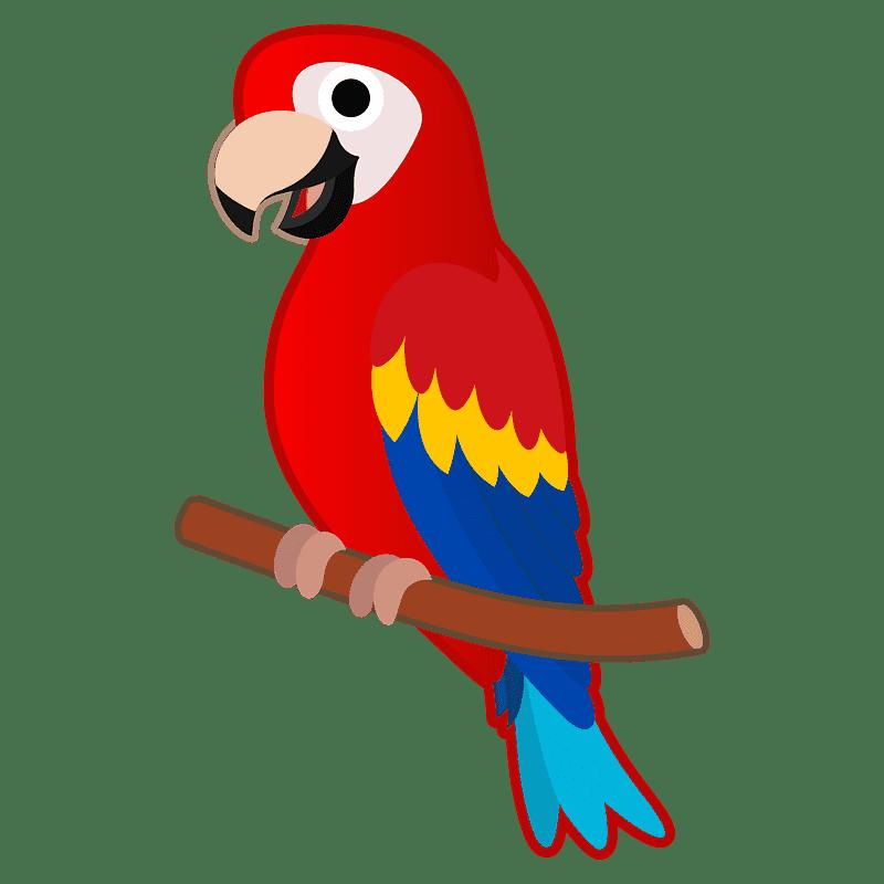 Parrot clipart transparent background 2