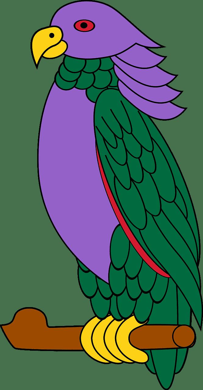 Parrot clipart transparent background 3
