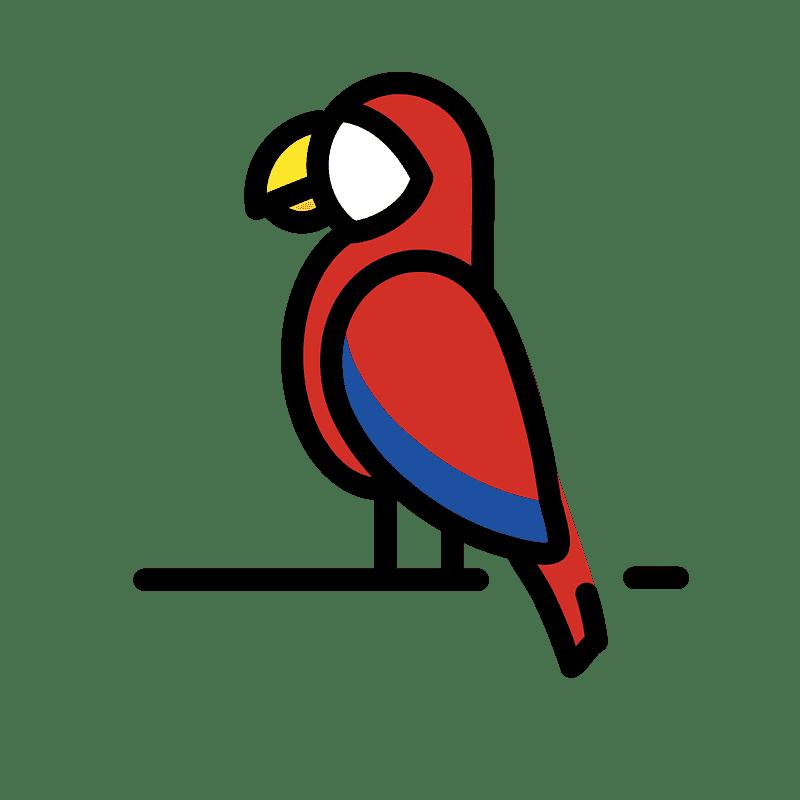 Parrot clipart transparent background