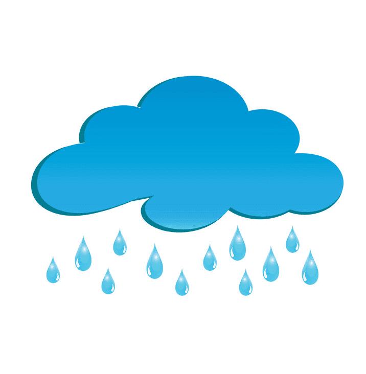 Rain Cloud clipart for free