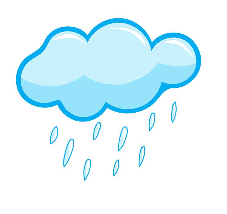 Rain Cloud clipart free