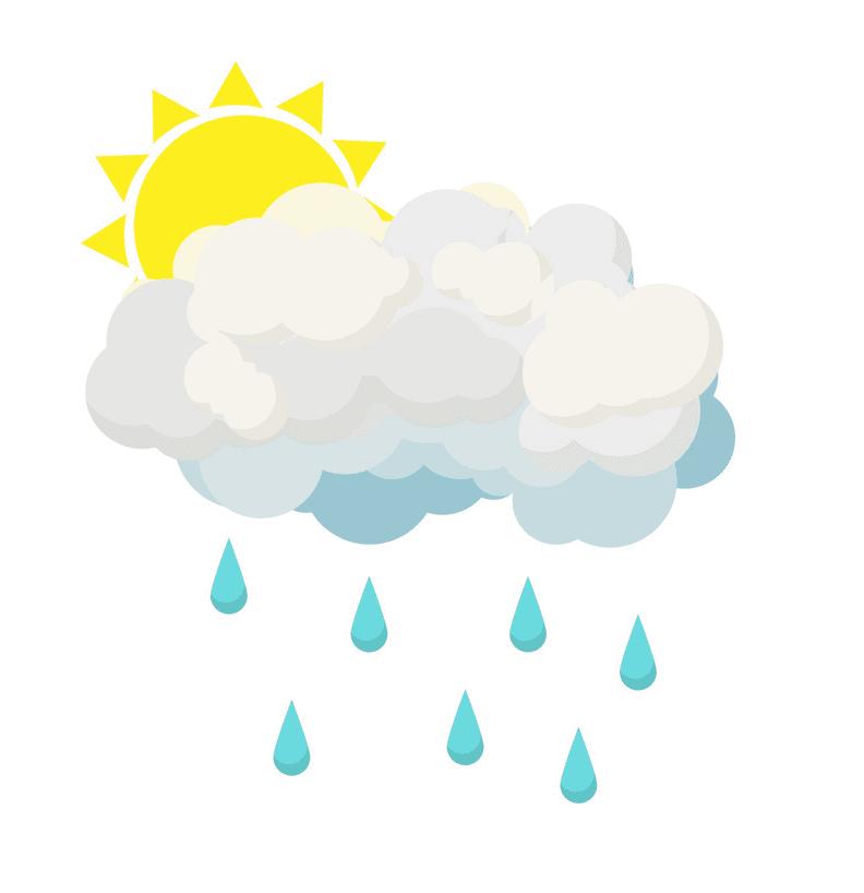 Rain Cloud clipart image