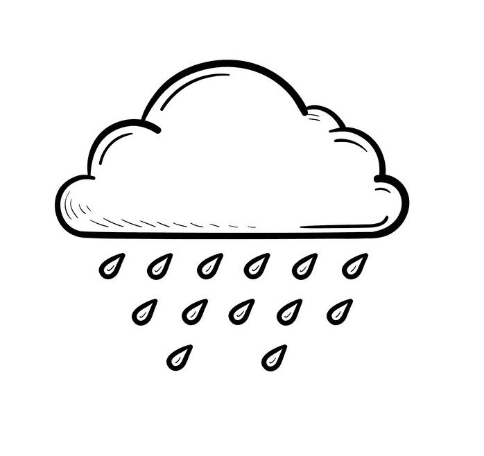 Rain Cloud clipart images