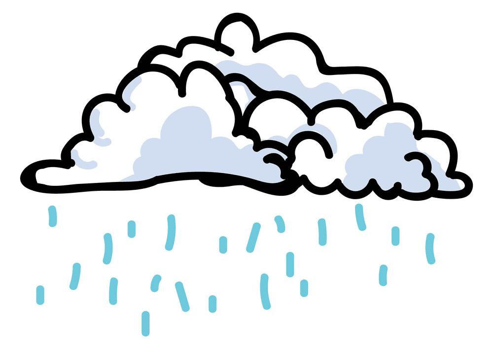 Rain Cloud clipart picture