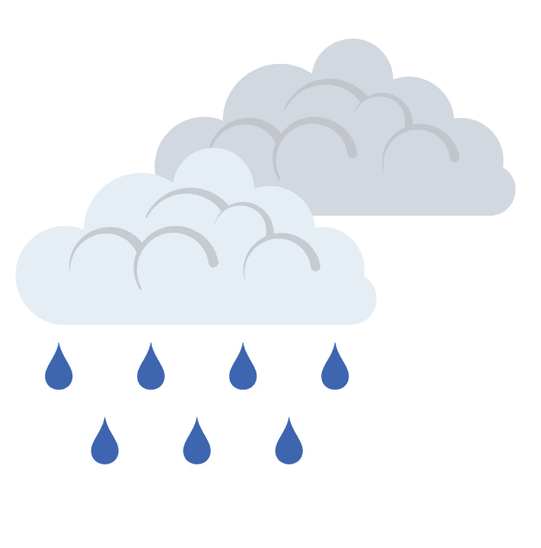 Rain Cloud clipart png for kids