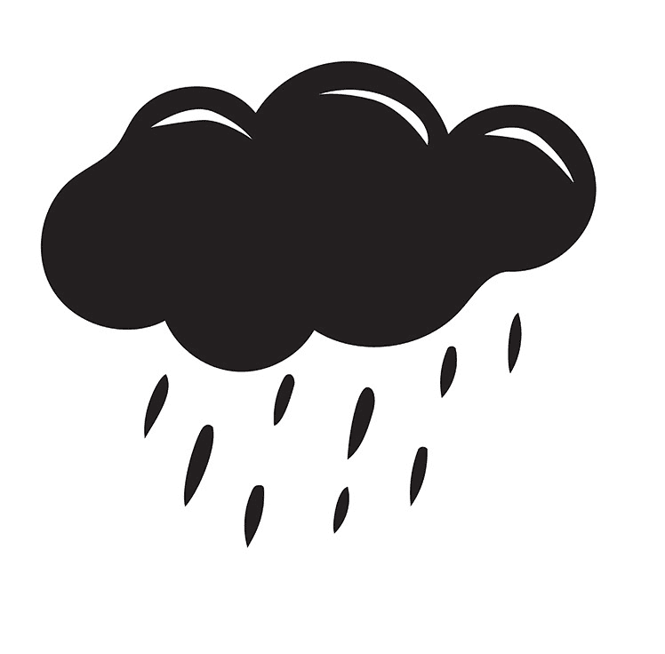 Rain Cloud clipart png free