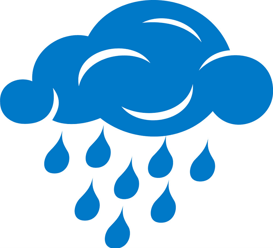 Rain Cloud clipart png