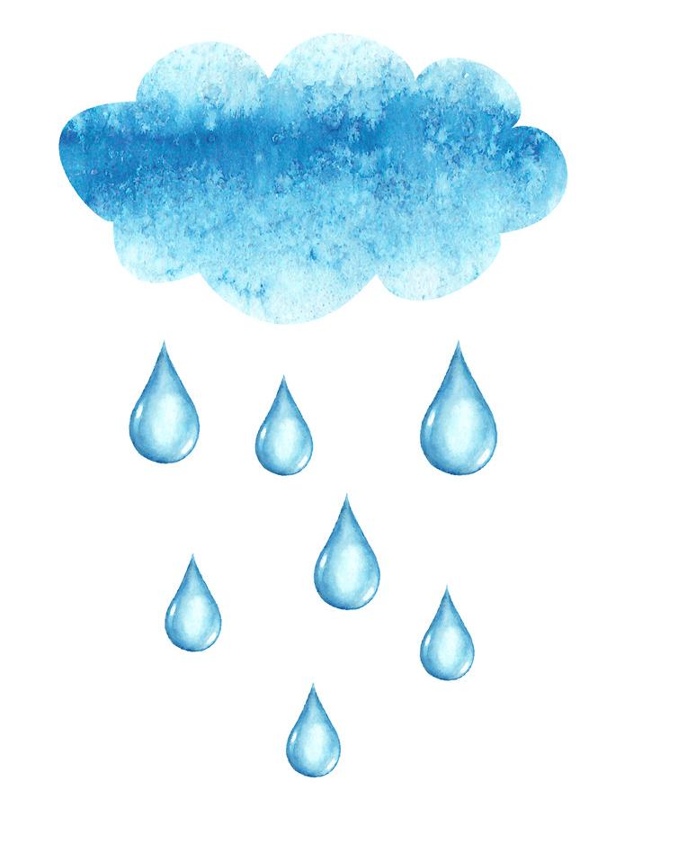 Rain clipart 4