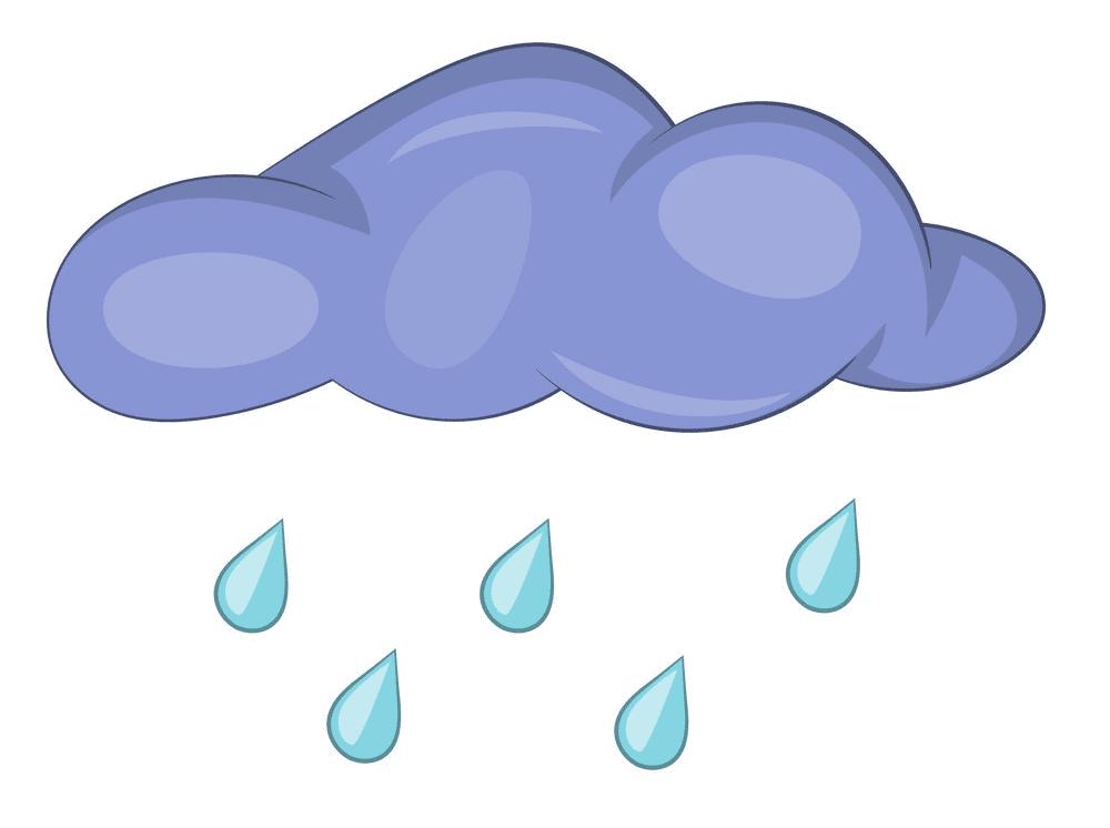 Rain clipart 6