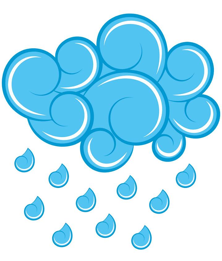 Rain clipart 7