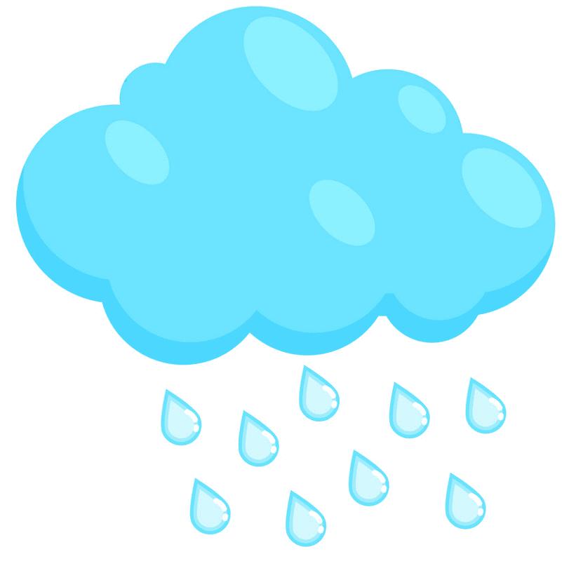 Rain clipart 8