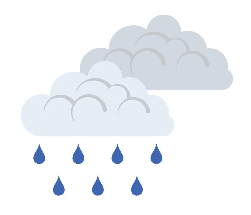 Rain clipart for kid