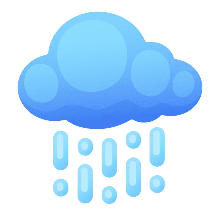 Rain clipart free image