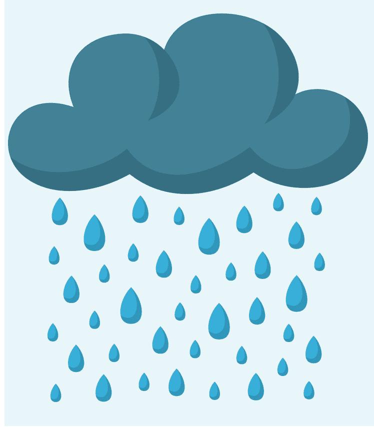 Rain clipart free